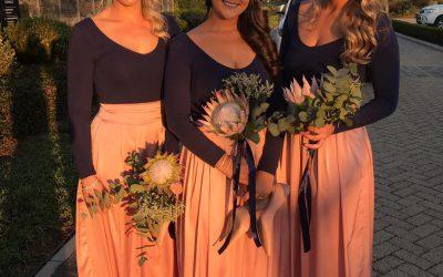 Mariska Groenwald bridesmaids